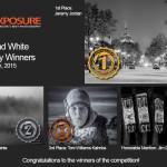Winners!  January 12th – Black and White